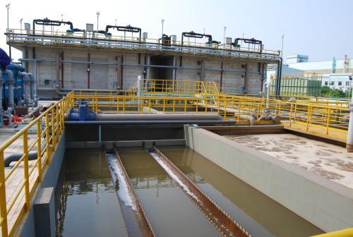 轧钢跟炼钢性质上基本上一致,但是在污水处理系统上就完全不一样,先以炼钢来说吧!